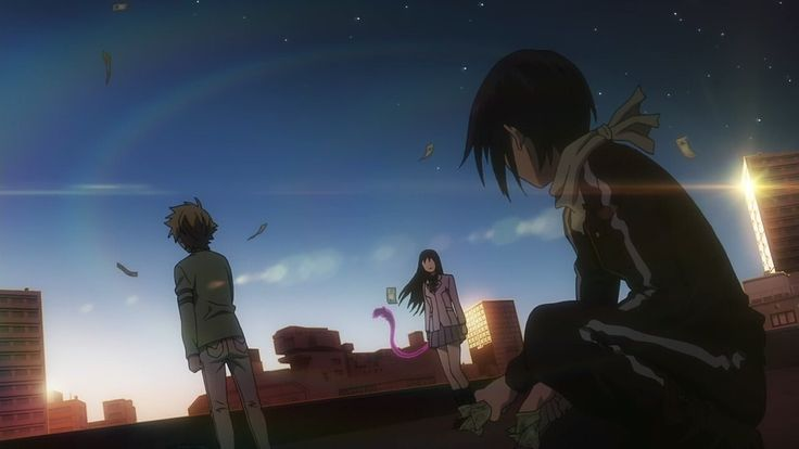 Noragami • What's a beautiful sight!!!