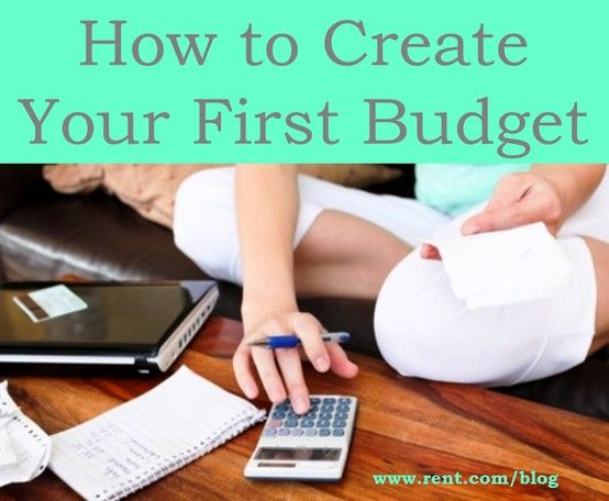 Creating your first #budget after college can be a little terrifying, but Rent.com is here to help!