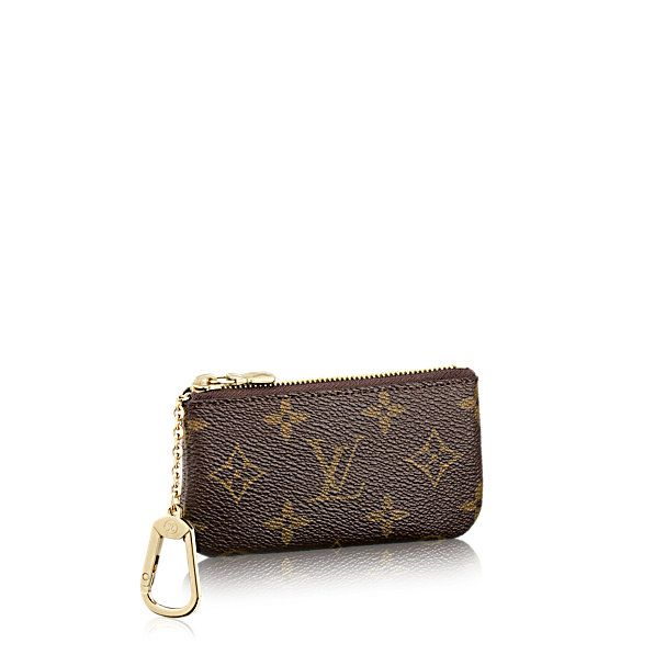 Discover Louis Vuitton Key Pouch  <BR>This practical pouch holds change and keys and slips easily into a bag or pocket.