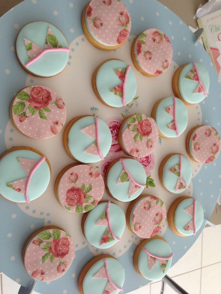 Shabby Chic biscuits