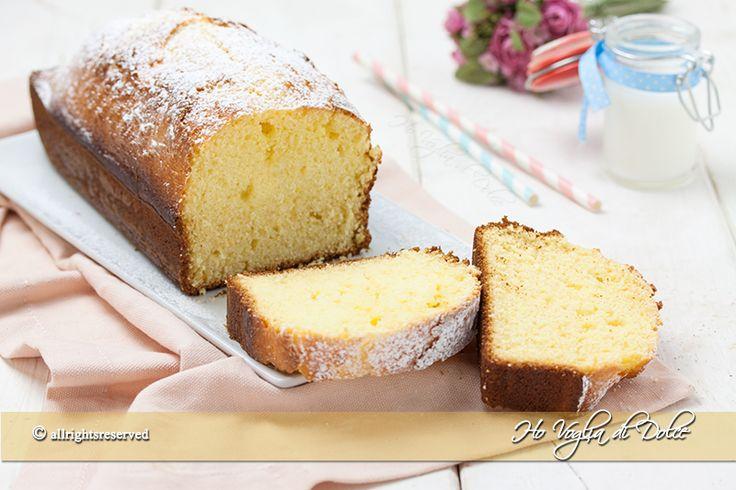 Plum+cake+alla+ricotta+soffice+e+senza+burro