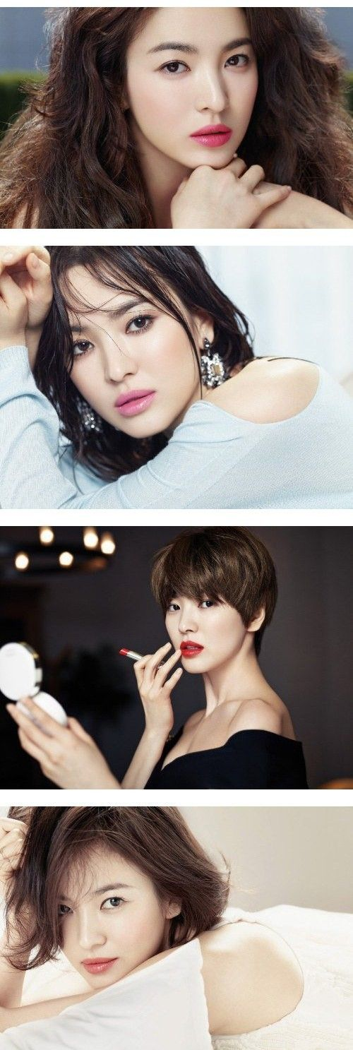 "Song Hye Kyo Looks Stunning for Cosmetics Brand ""Laneige"" 