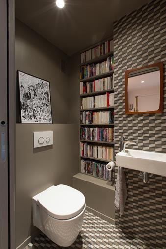 115 best TOILETTES images on Pinterest | Bathroom, Half bathrooms ...