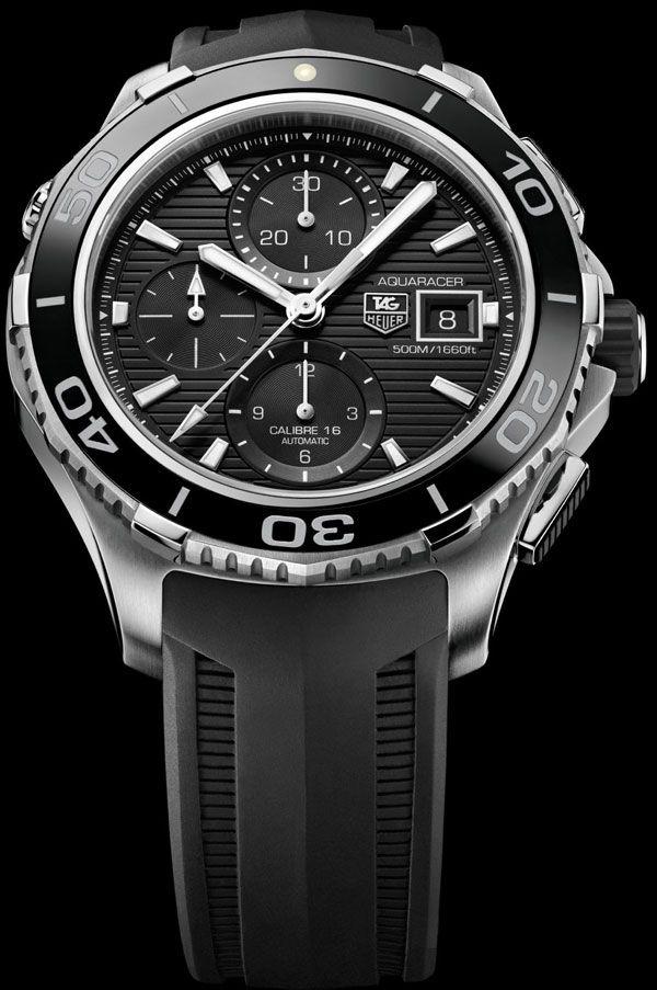 Tag Heuer Aquaracer 500m Ceramic Chronograph watch
