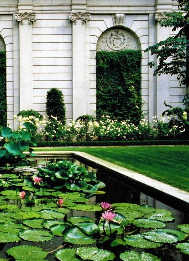 The garden at the Frick museum by Russell Page is simply perfect.