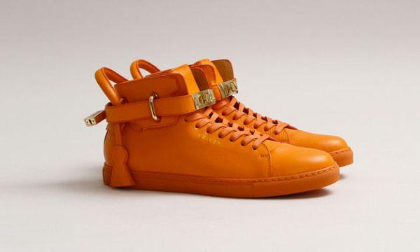 Buscemi 100mm Orange Sneaker