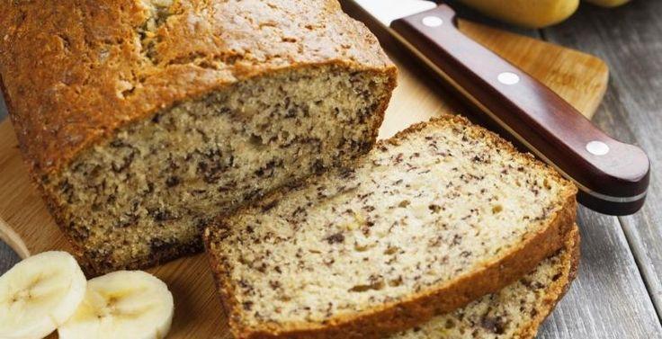 Le pain aux bananes, flocons d'avoine et lait de coco - Recettes - Ma Fourchette