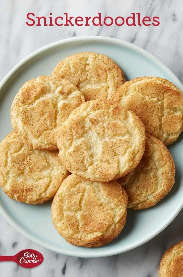 Classic Snickerdoodle Cookies Recipe Snickerdoodles Dessert Recipes Favorite Cookies