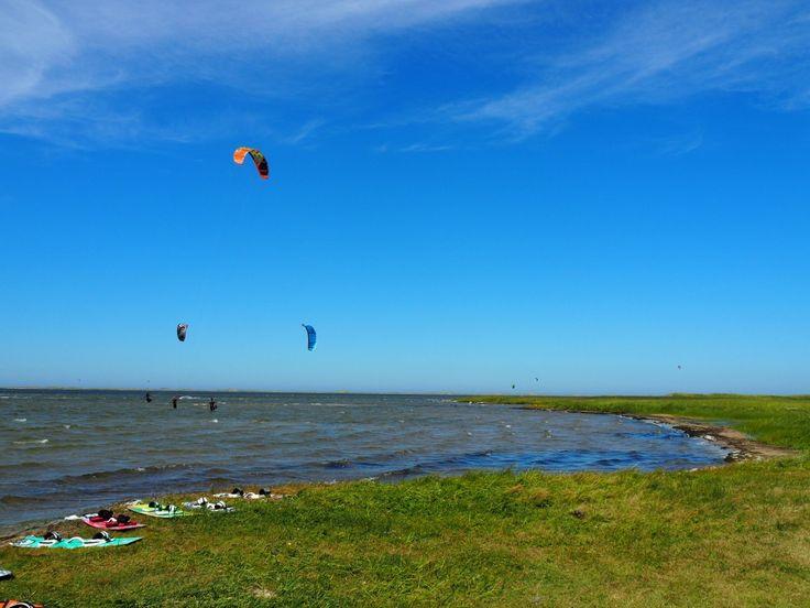On peut faire du kitesurf un peu partout aux Îles