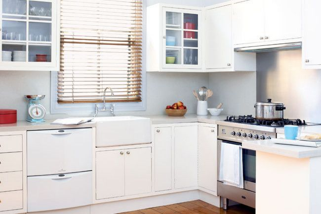 After | The design inspiration was spotted in a magazine and the owner employed a builder to make the cabinets from...