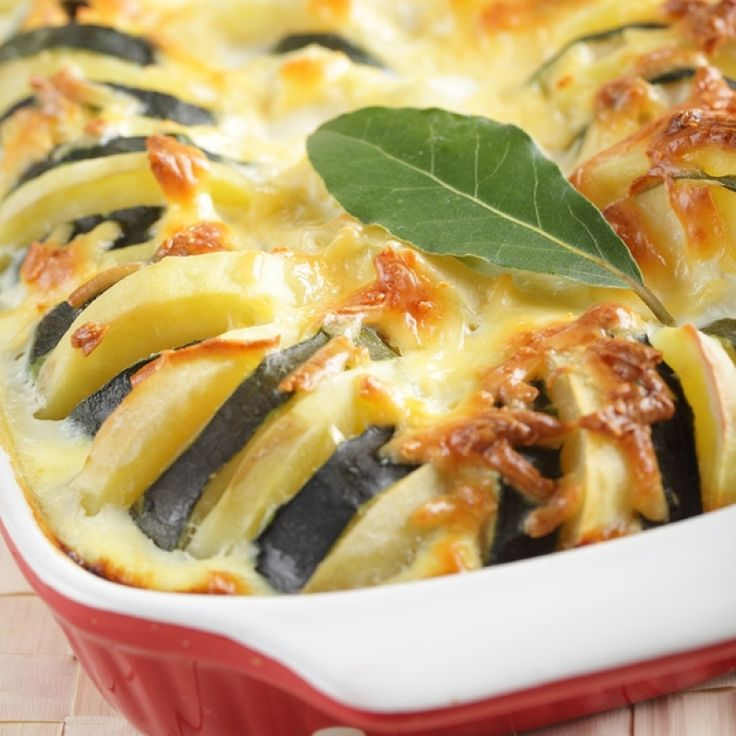 Potato and Zucchini Casserole