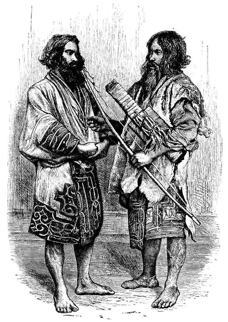 1878年、イギリス人旅行家・イザベラ・バードが北海道の日高地方でスケッチしたアイヌ民族の男性。 ◆アイヌ - Wikipedia http://ja.wikipedia.org/wiki/%E3%82%A2%E3%82%A4%E3%83%8C #Ainu #Aynu #アイヌ