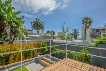 Balcony - Garden - Decking Instow Cottage, Dorchester, 271 High Level Road, Sea Point, Cape Town, 8005, 2014