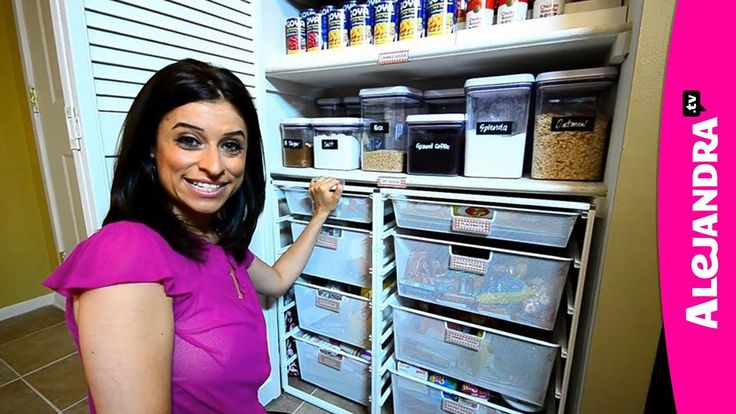 Most Organized Home in America - HGTV Clean Freaks & Professional Organizer Alejandra Costello
