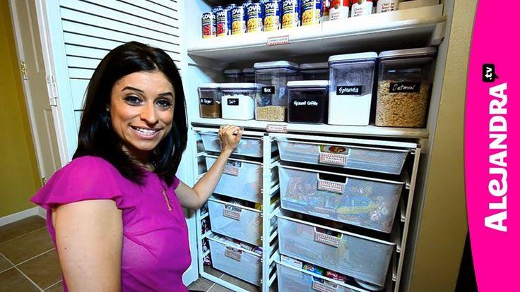 Most Organized Home in America - HGTV Clean Freaks & Professional Organizer Alejandra Costello, via YouTube.