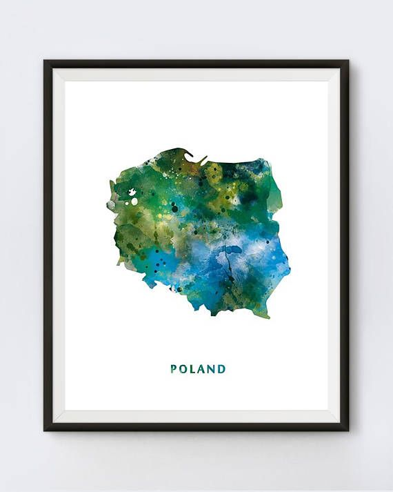 Poland Map Art Print Polska Warsaw Poland Poster Home    #poland #polska #republicofpoland #map #maps #mapart #mapprint #travel #watercolormap #polish #warszawa #polandmap  #rzeczpospolitapolska #state #warsaw #poster #europe #mapofpoland #mapartdigital #modern #contemporary #digital #watercolour #urban