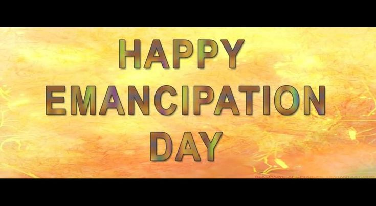 Emancipation Day | Emancipation Day - Askideas.com