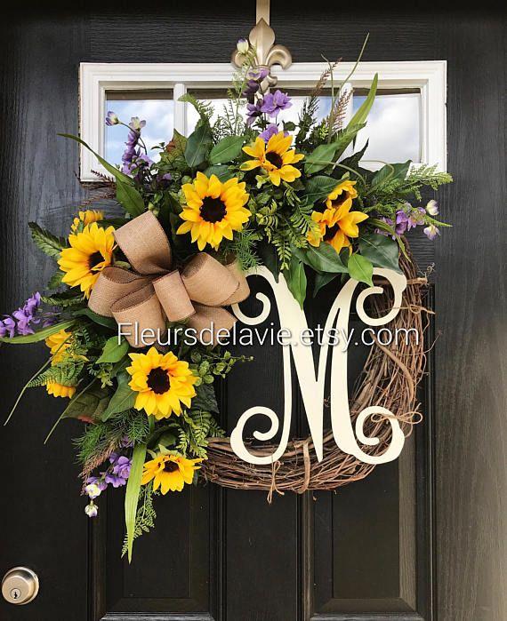 Summer Wreaths for Front Door Summer Door Wreaths Front Door