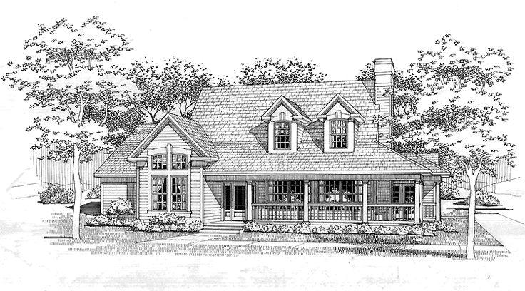 Eplans Victorian House Plan Wraparound Front Porch
