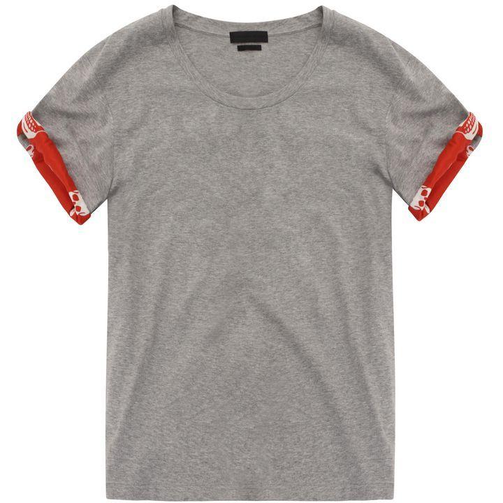 Alexander McQueen, Skull Sleeve T-Shirt, Pre-Autumn/Winter 2014