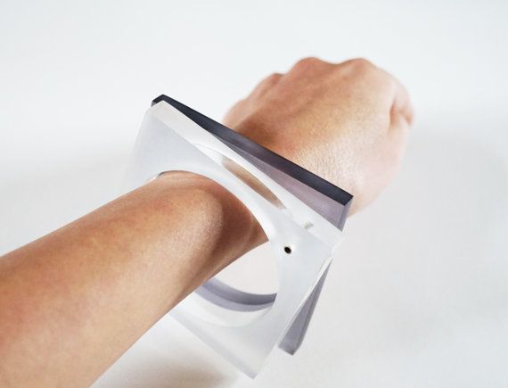 E. Salwierz Design-Plexiglass Sterling by APPUSSTUDIOJEWELLERY