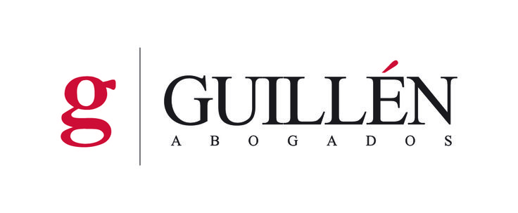 Logo design for Guillén Abogados (lawyers).