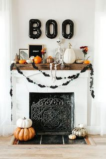 Deliciously at Home - Decor - Organization - Lifestyle: Decoração de Halloween