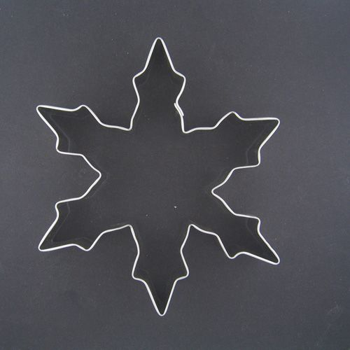 Christmas Snowflake Cookie Cutter Only $1.50 via #TheCookieCutterCompany