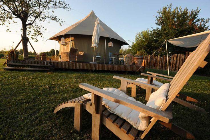 Se acabó dormir sobre canales: llega la campiña veneciana - Ir de acampada romántica es posible