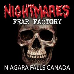 Nightmare fear factory in Canada. I really really really want to go with my husband, he said no. :( sad face.