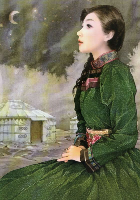 Chen Shu Fen (陈淑芬 -is from: Xiangtan City, Hunan Province, China Unicom. Painting illustrations illustrator 56 national figures, and they are all hand-painted paintings.