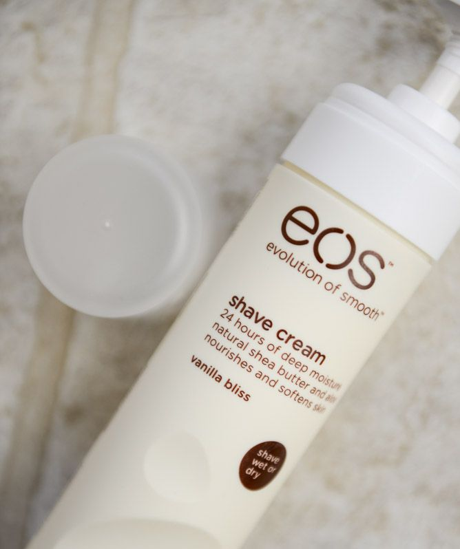 3. EOS shaving cream in the scent Warm Vanallia sugar. this shaving cream is awesome in general but, this scent is awesome for fall.