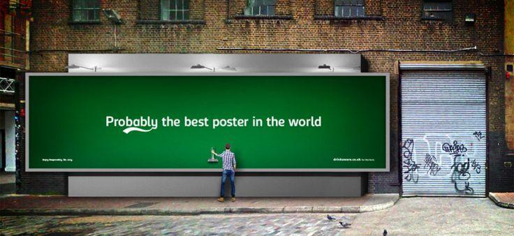Das ist #ProbablyTheBest Werbeplakat ever!