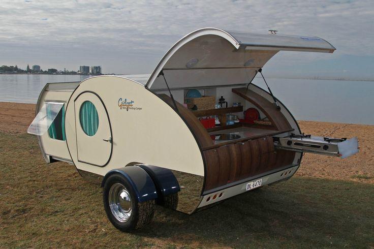 Retro Teardrop Camper Trailer   eBay