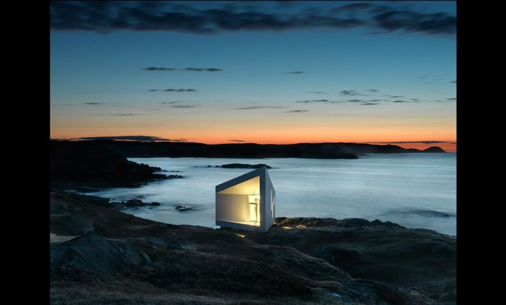 Just a simple little beach getaway. Saunders Architecture. Fogo Island, Squish Studio- Great modern designs.