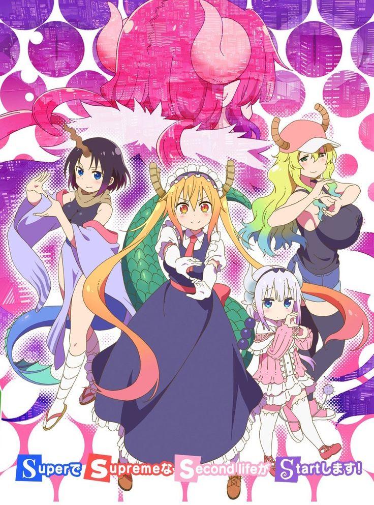 Kyoto Animation Returns for Miss Kobayashi's Dragon Maid S