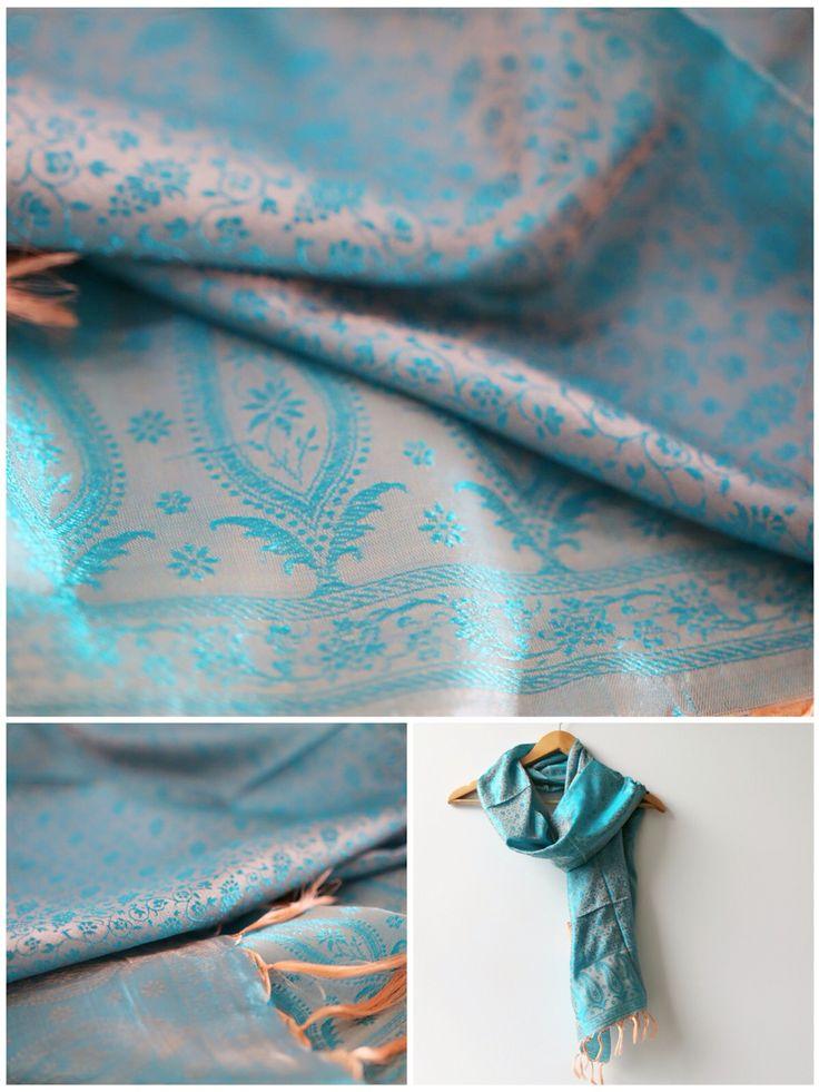 Shop our Orange tasselled scarf @www.ragasutra.com.au