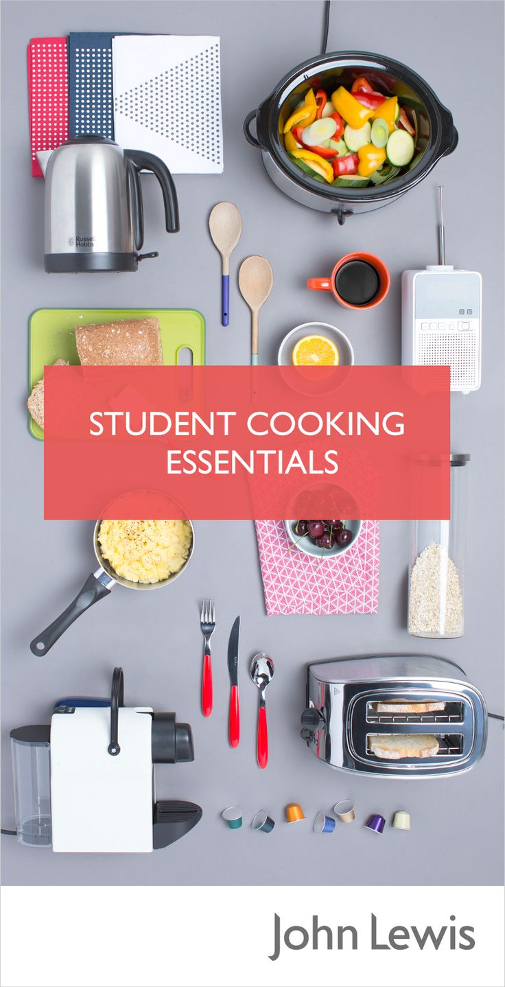 Whether it's the kitchen basics you need or just a few replacement plates, we've got it all. Create amazing meals guaranteed to impress new housemates with our Student Cooking Essentials.