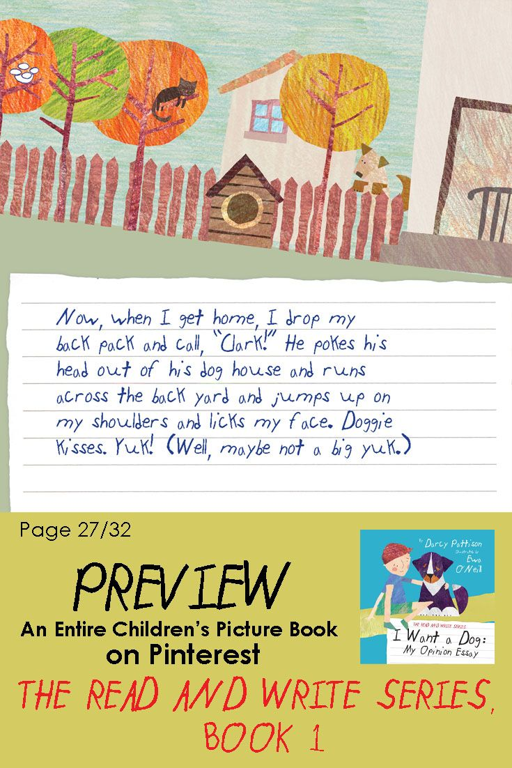 essay books for children Picture books are intended to show children how to derive pleasure from reading they fuse humorous plots with captivating illustrations in order to.