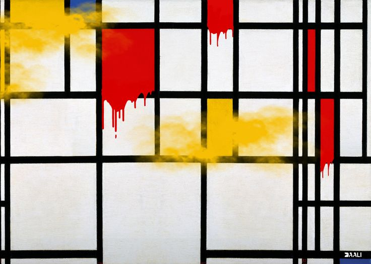 Art Masterpieces in 2017 Mondrian #Art_Masterpieces_2017 #Mondrian #Think_About_Syria #Think_about_Aleppo #Aleppo #Russia #Antiwar_posters #Antiwar_Artist #DAALI  #Syria #syriaposters #Anonymous_artist #SociopoliticalPosters