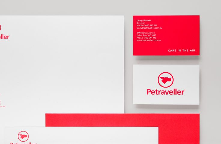 Petraveller Stationery Graphic Design