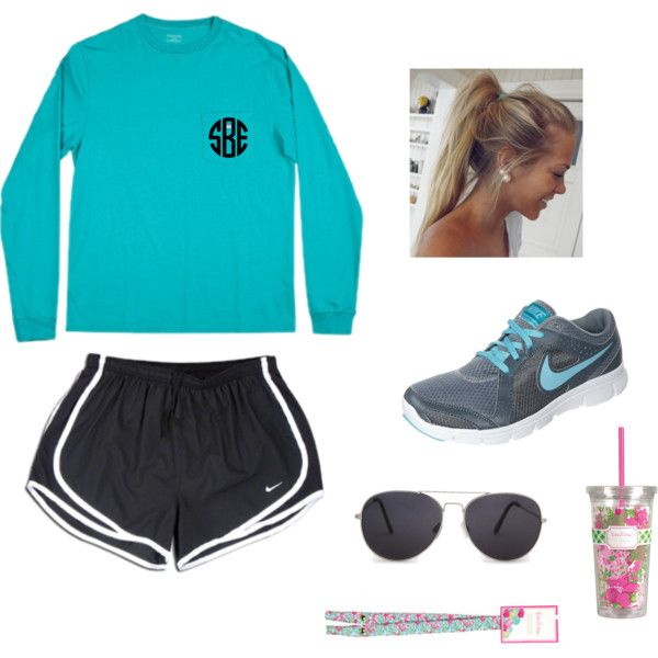 Running Outfit by sarahobrien24 on Polyvore