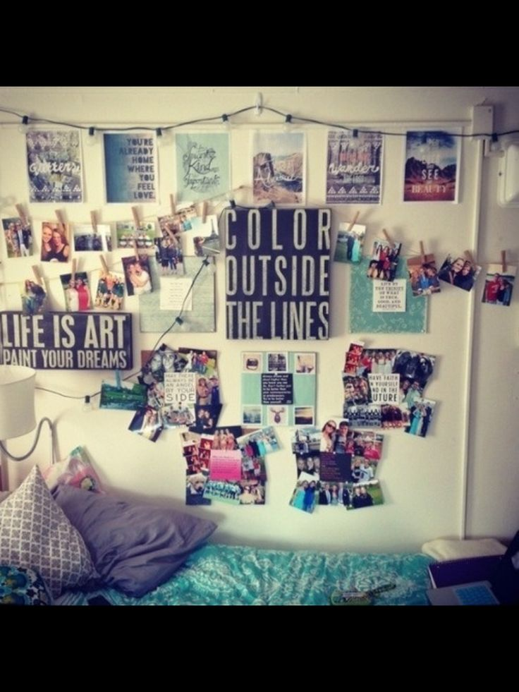 Tumblr room wall quote bedroom x1 pinterest jazz - Wall decoration ideas for bedrooms ...