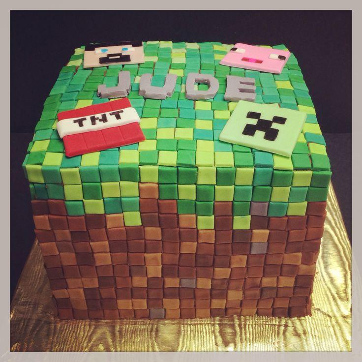 Design Of Minecraft Cake : 20 best images about minecraft on Pinterest Fondant ...