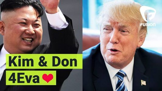 A match made in heaven.  Turns out Donald Trump and Kim Jong-un have more in common than those terr #news #alternativenews