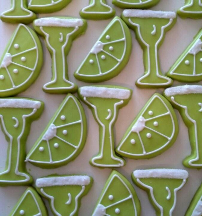 Margarita Cookies | Cookies by Alison | Pinterest