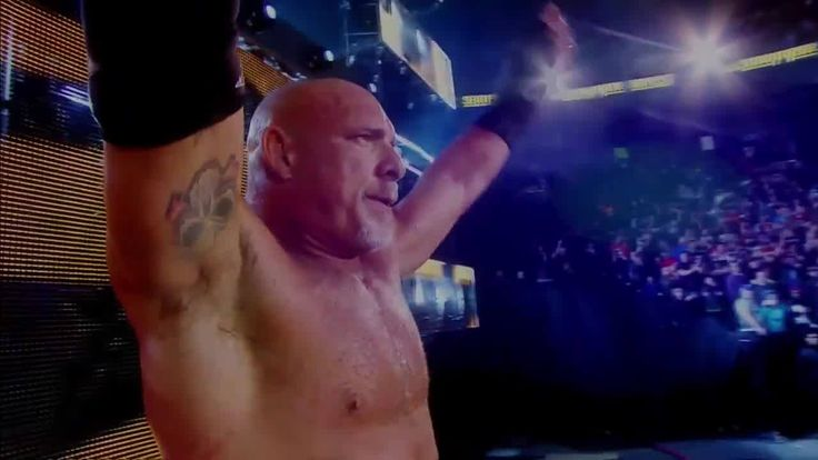 """At the Royal Rumble Match, EVERYONE IS NEXT!"" - Goldberg"