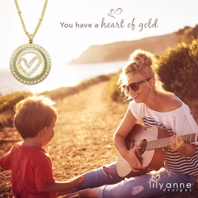 You have a heart of gold #LilyAnneDesigns #PersonalisedLockets #CapturingMoments #FreeToBeMe
