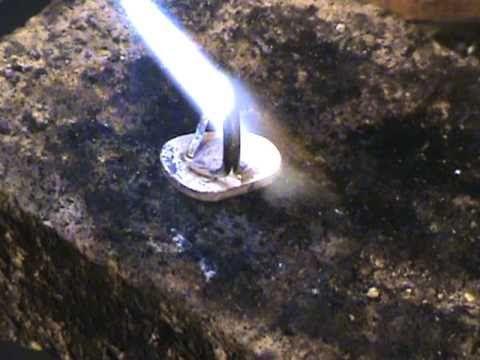 basic silversmithing lesson making a turquoise ring