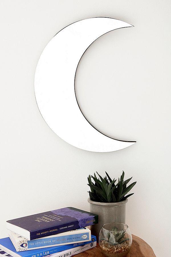 Crescent Moon Mirror Moon Mirror Moon Decor Mirrors Urban Outfitters